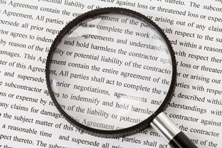 Legal terms and fine print